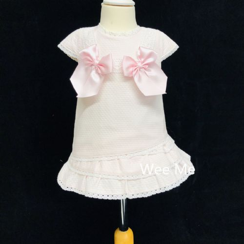 *SALE* Gorgeous Baby Girl Pink Spanish Lacey Dress Many Layers
